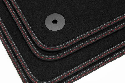 High-quality floor mats for Audi A8 D4 4H from 2010-2017 L.H.D. only