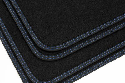 High-quality floor mats for BMW 4er F36 Gran Coupé from 2014-  L.H.D. only