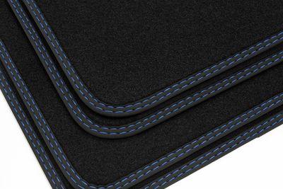 High-quality floor mats for BMW 2er F45 Active Tourer from 2014- L.H.D. only