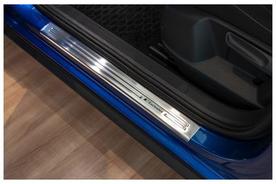 Exclusive design V2A door sill for VW Polo VI 2G from 2017-