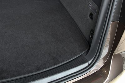 Velours trunk mat fits for Citroen DS3 Hatchback from 2010-