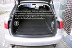 Bagagerie tapis de compartiment tapis réversible adapté pour Audi A6 4F Avant 001