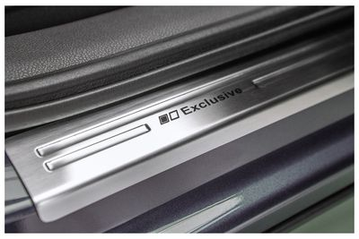 Exclusive stainless steel entry sills fits for Skoda Octavia 3 MKIII 2012-