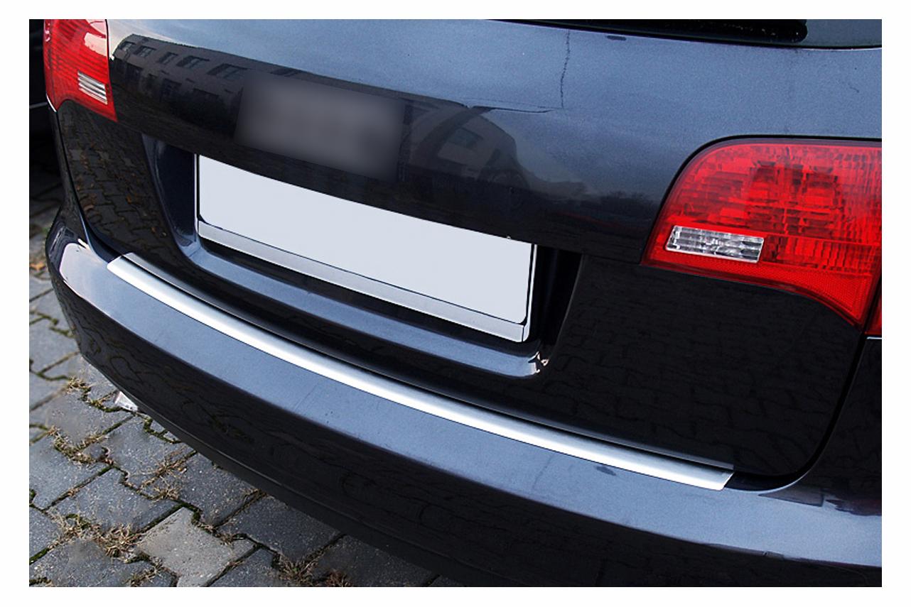 Edelstahl Ladekantenschutz für Audi A6 4F C6 Avant Kombi Abkantung Bj.2005-2011