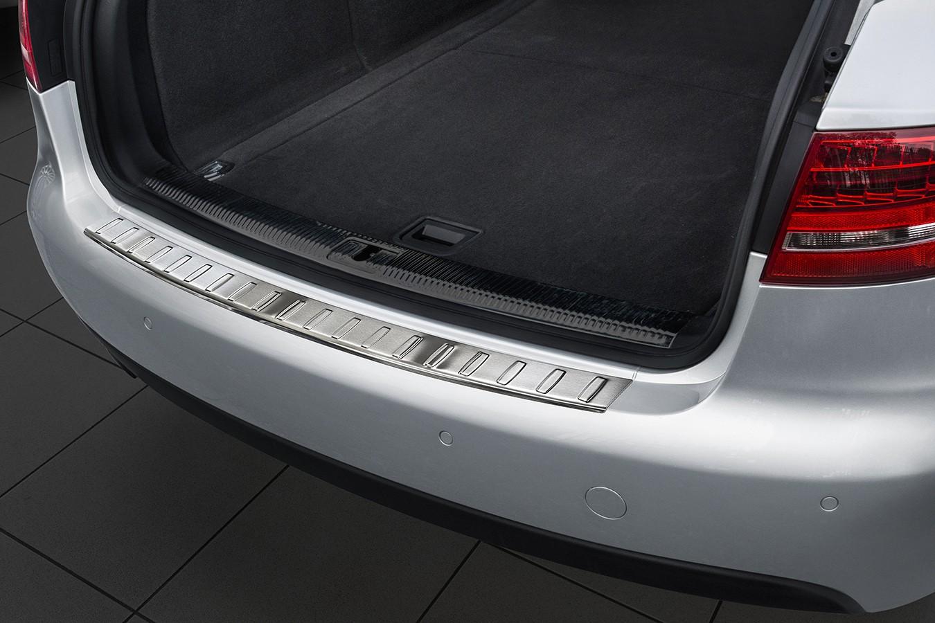 Edelstahl Ladekantenschutz für Audi A4 B8 8K Avant Kombi S-Line Bj. 2007-2011