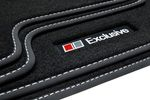 Exclusive Line floor mats fits for VW Touareg 2002-2010 L.H.D only 001