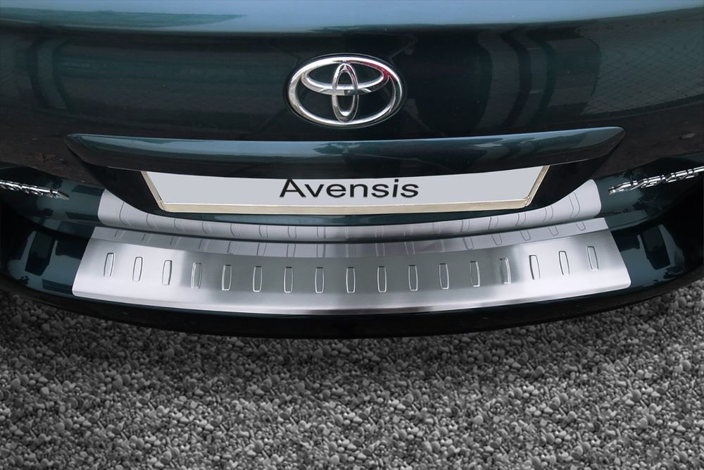 Stainless Steel Bumper Protector fits for TOYOTA Avensis 2 II MKII 2003-2009