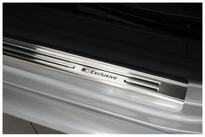 Stainless steel door sills fits for VW Passat B6 3C B7 CC