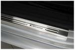 Exclusive acciaio inox set battitacco adatto per VW Passat B6 3C B7 CC 001