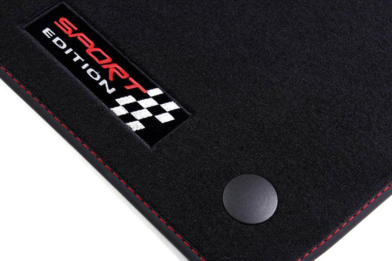 Sport alfombras del automóvil para Mercedes C-clase W203 año 2000-2007