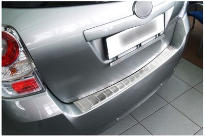 Stainless steel bumper protector fits for Toyota Verso 2009-2013