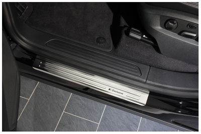 Exclusive stainless steel entry sills fits for VW Touareg II 7P 2010-2018
