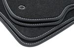 Exclusive floor mats fits for Hyundai i20 2008-2014 L.H.D only 001