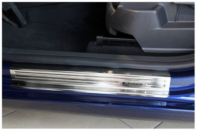 Exclusive stainless steel entry sills fits for VW Golf Plus V Golf VI Plus 2005-2014