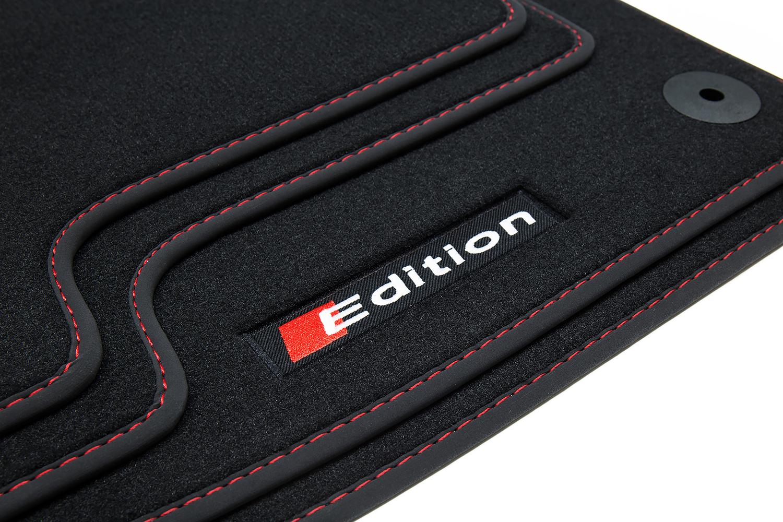 Edition Fußmatten für Audi A1 8X Sportback Limo S-Line Bj. 2010-