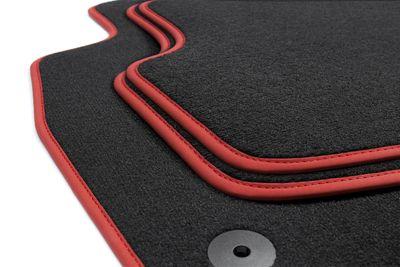 Edition GTI tapis de sol de voitures adapté pour VW Golf 5 V 6 VI Scirocco Editon für GTI
