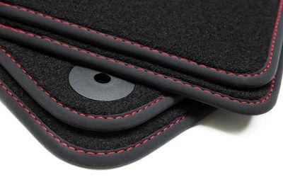 Premium Fußmatten für Audi A6 4F C6 Avant Kombi LimoS-Line Bj. 2006-2011
