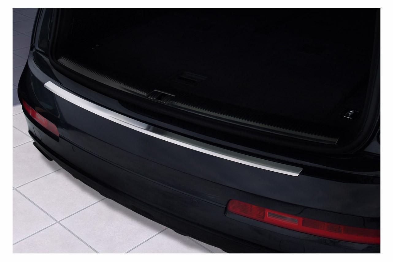 Edelstahl Ladekantenschutz für Audi Q7 4L Quattro S-Line Bj. 2006-06/2015