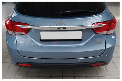 Stainless steel bumper protector fits for Hyundai i40 CW 2011-