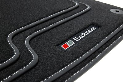 Exclusive Line floor mats fits for VW Golf Plus 2005-2014 L.H.D only