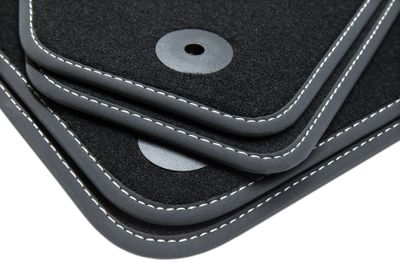 Exclusive floor mats fits for Audi A3 8L 1996-2003 Black L.H.D only