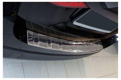 Protector de borde de carga de acero inoxidable para BMW X1 E84 año 2009-2012