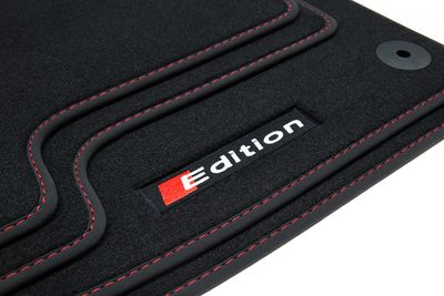 Edition floor mats fits for S line S4 A4 8E 2000-2008 L.H.D only