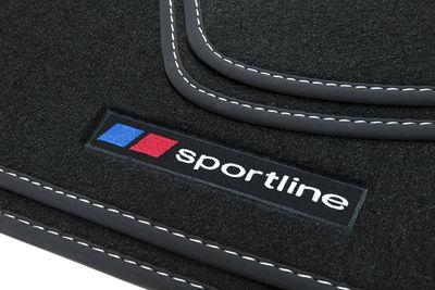 Sportline Fußmatten für Ford Transit Tourneo Courier Bj. 2014-