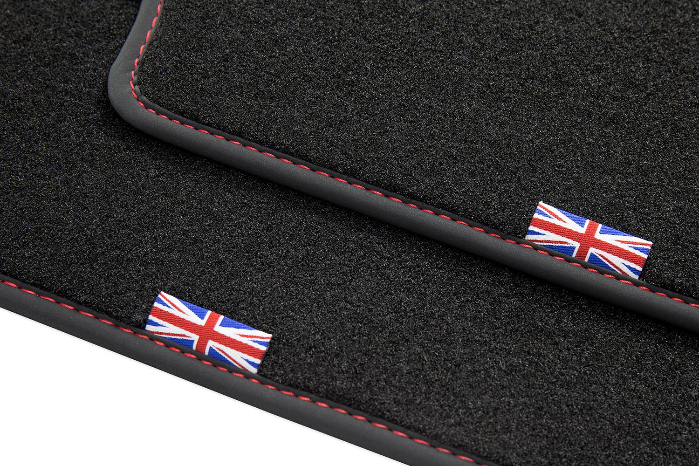 Exclusive Union Jack alfombras del automóvil para Land Rover Discovery Sport año 2015-