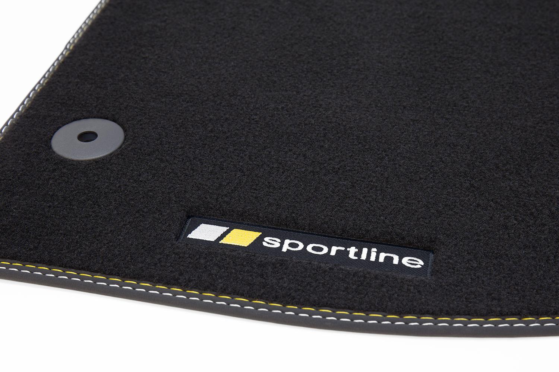 sportline fu matten f r opel astra k bj 2015 fu matten. Black Bedroom Furniture Sets. Home Design Ideas