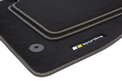 Sportline floor mats fits for Opel Corsa D 2006-2014 L.H.D. only