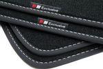 Exclusive design floor mats fits for Skoda Octavia III 2013- L.H.D. only 001