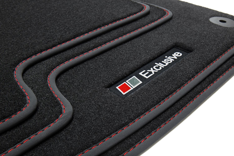 Für Audi A4 8E B6//B7 2000-2007 Autoteppiche Fußmatten anthrazit Velours