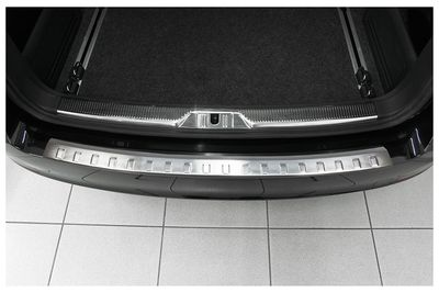 Stainless steel bumper protector fits for Skoda Superb 2 II Kombi 2009-2013