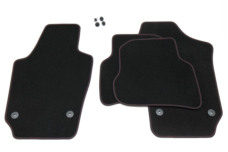 Exclusive Line Fußmatten für Seat Ibiza 4 6J 6P Style FR Cupra ST Bj 2009-2017