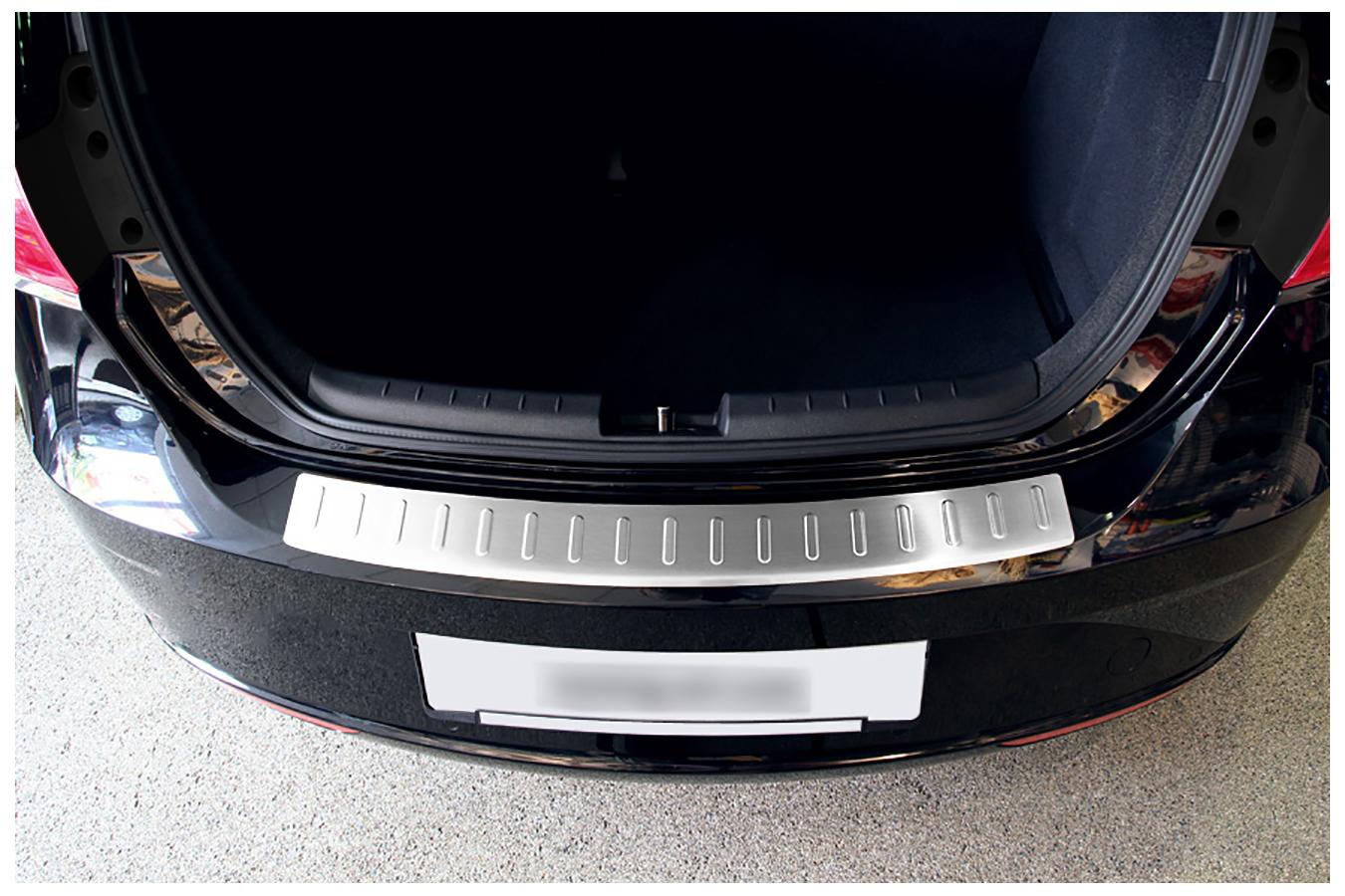 Acero inoxidable parachoques protección para VW Golf 6 BJ. 2008-2012