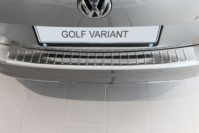Entry sills and stainless steel bumper protectors fits for VW Golf V Variant 2007-2009