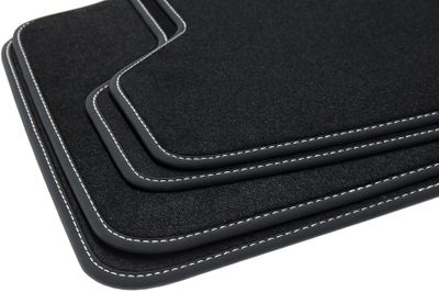 Winter floor mats fits for BMW 5 Series F10 F11 2013-01/2017 L.H.D only
