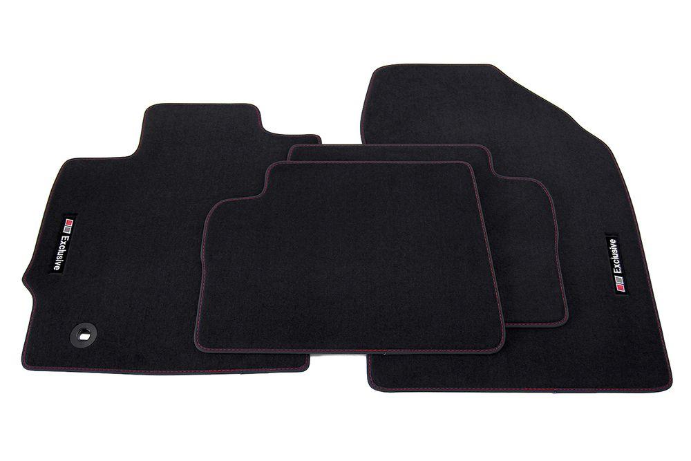 exclusive line floor mats fits for toyota auris mk 2 ii. Black Bedroom Furniture Sets. Home Design Ideas