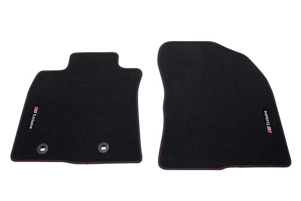camry front mats customized toyota carpet floor black for