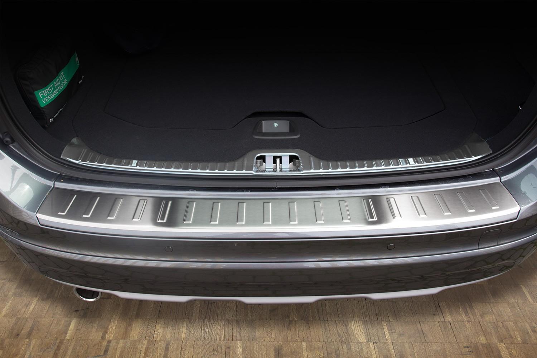 Ladekantenschutz Stoßstangenschutz für Volvo XC60 2013-2018 Carbon
