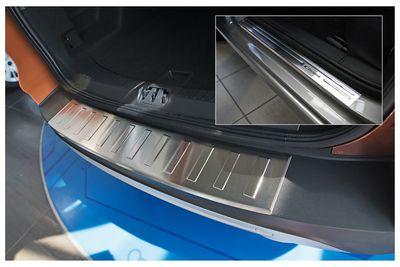 Ladekantenschutz und Einstiegsleisten für Ford Kuga 2 II Abkantung Bj. 2013-2016