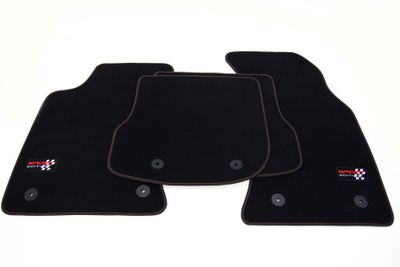 Sport Edition floor mats fits for Audi A4 B5 8D Facelift 1999-2001 L.H.D only