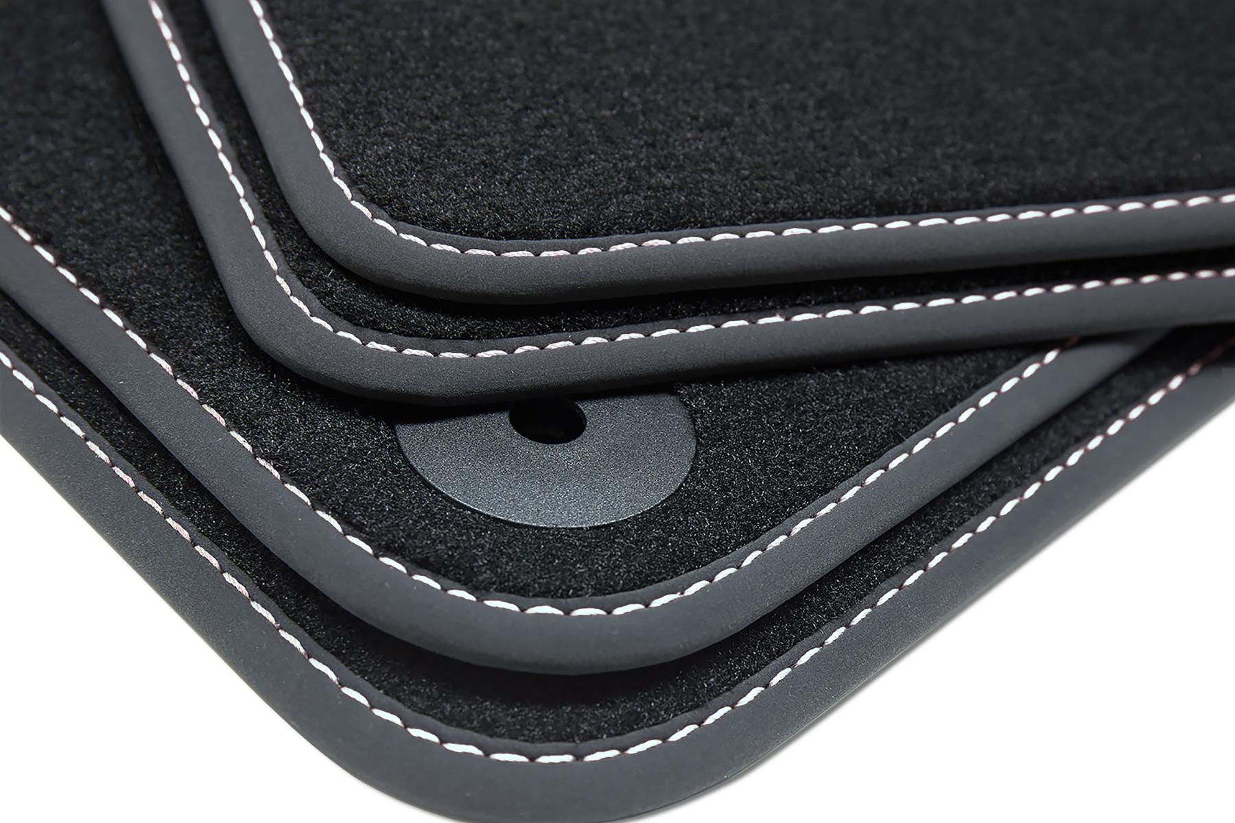 Exclusive Fußmatten für Audi A6 4G C7 Avant Kombi Limo S-Line ab Bj.2010-2018