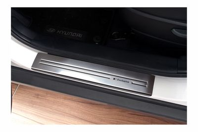 Exclusive stainless steel entry sills fits for Hyundai ix35 2009-