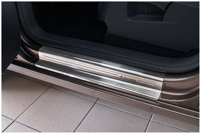 Exclusive stainless steel entry sills fits for VW Caddy MKIII 2003-