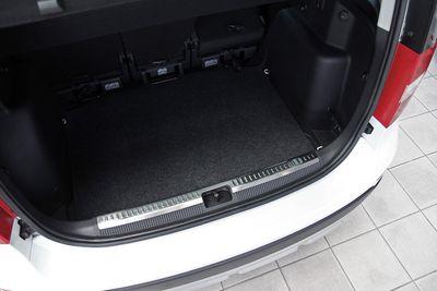 Protection intérieure du seuil de chargement adapté pour Skoda Yeti année 2009-10/2017