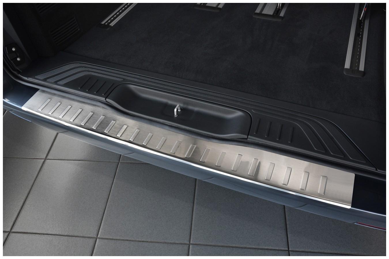 Edelstahl Ladekantenschutz für Mercedes V-Klasse Vito W447 Abkantung Bj. 2014-