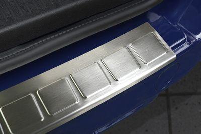 Edelstahl Ladekantenschutz für Dacia Dokker ab Bj.2013-