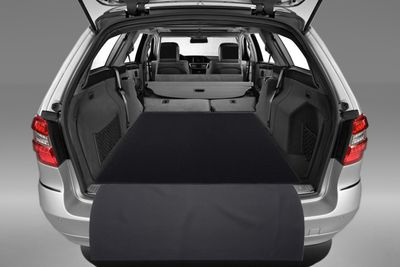 2-pieza estera del tronco con protección de parachoques para Mercedes Clase E T-Modelo S212